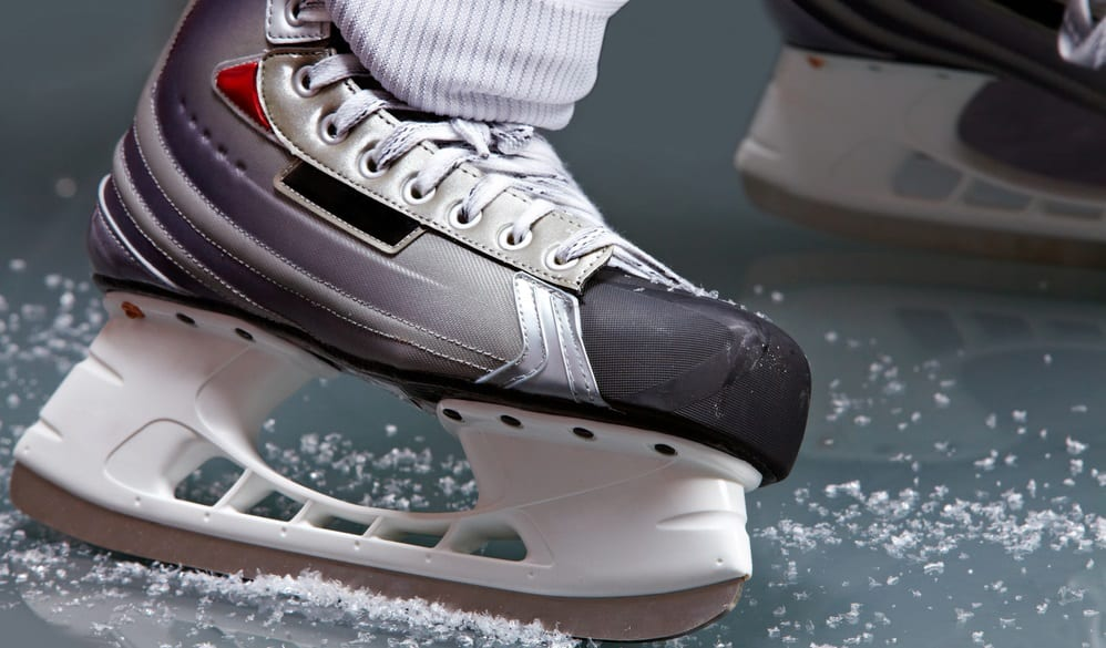 Flat Feet Hockey Skates