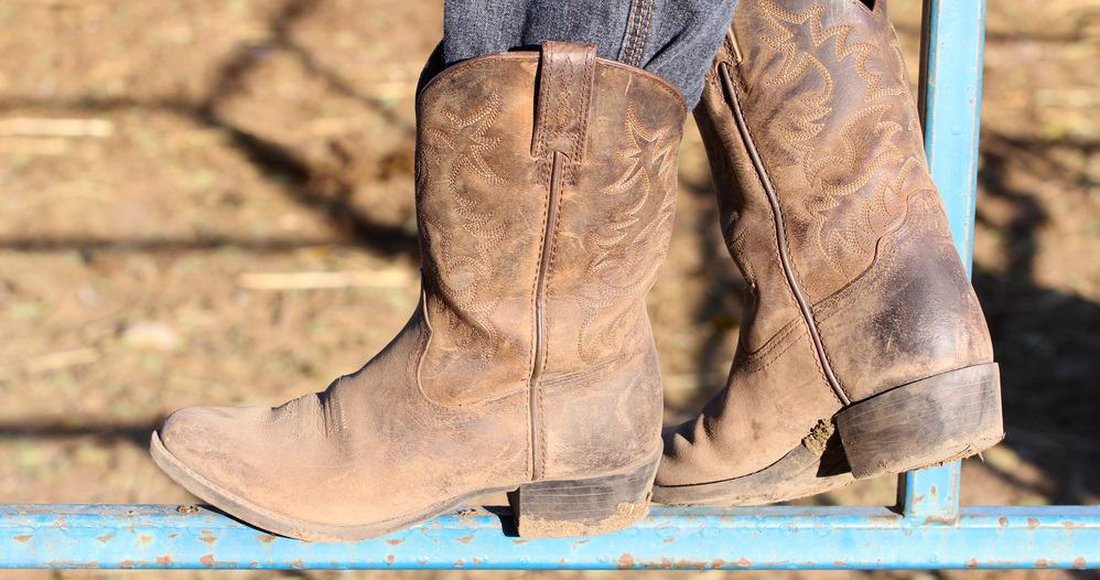 Wide Calf Cowboy Boots For Women