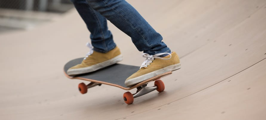 Wide Width Skate Shoes Features